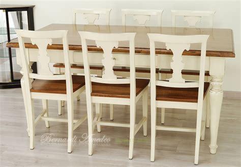 tavole e sedie tavoli country da cucina in legno massello tavoli