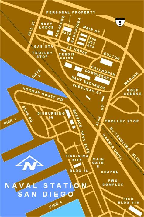 san diego navy ports