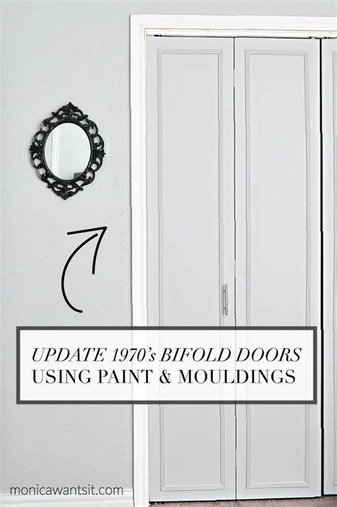 how to update 1970 s bi fold closet doors the end