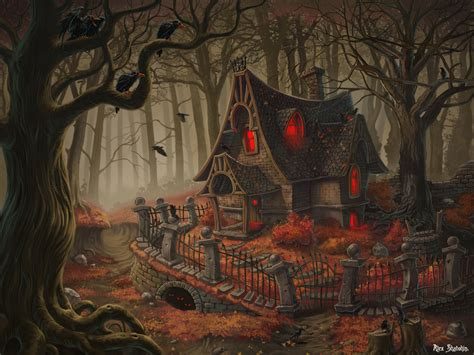 creepy house on witch house house and haunted houses