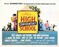 High School Confidential - Juvenile Delinquent B Movie Posters