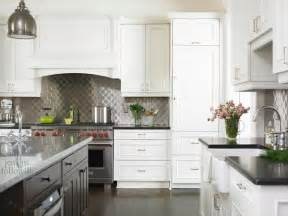 Backsplashes For White Kitchens Quilted Backsplash Transitional Kitchen Emily Followill Photography