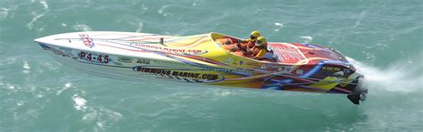 Speed Boat Drag Racing by Offshore Racing Powerboats Photo Gallery