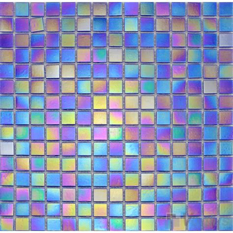 rainbow tiles rainbow iridesent glass mosaic voglus mosaic