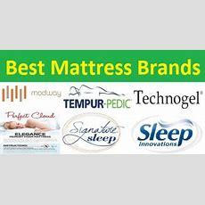 Top 40 Best Mattress Brands A To Z Guide Mattress On Floor