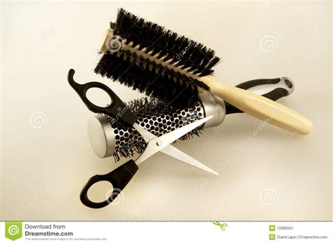 hairdresser accessories stock image image