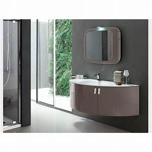 beautiful salle de bain taupe et bleu images awesome With meuble salle de bain taupe