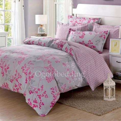light pink and grey bedding clearance light grey and pink pattern cotton comforter