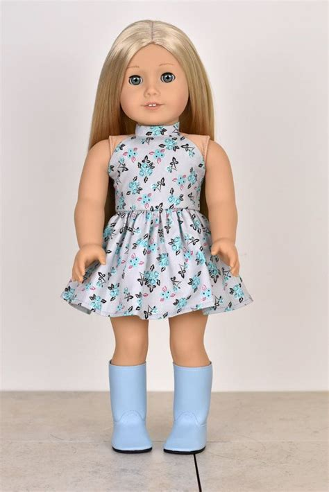 "18 Inch Doll Dress ""halter Top"" Doll Clothes  American"