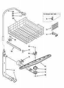 Dishwashers  Kenmore Ultra Wash Dishwasher Parts
