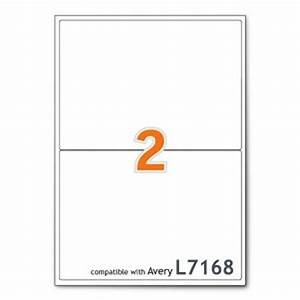 a4 mailing shipping printer labels 2 per sheet avery With avery labels 2 per page