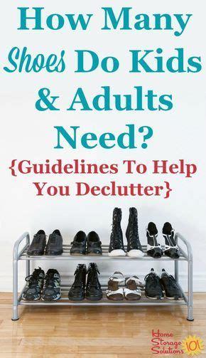 declutter shoes kids clothes storage declutter