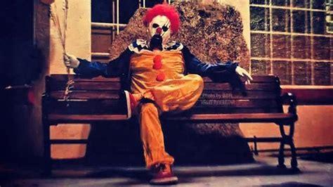 Bakersfield Halloween Town by Evil Clowns Terrorize California Valley After Dark