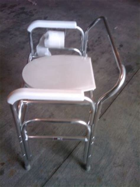 toilet chair for adults used convaquip 724 toilet chair for sale dotmed listing 806222