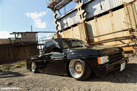 stanced nissan hardbody image gallery stanced hardbody
