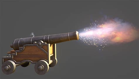 Cannon With Firing FX [Released] - Unity Forum