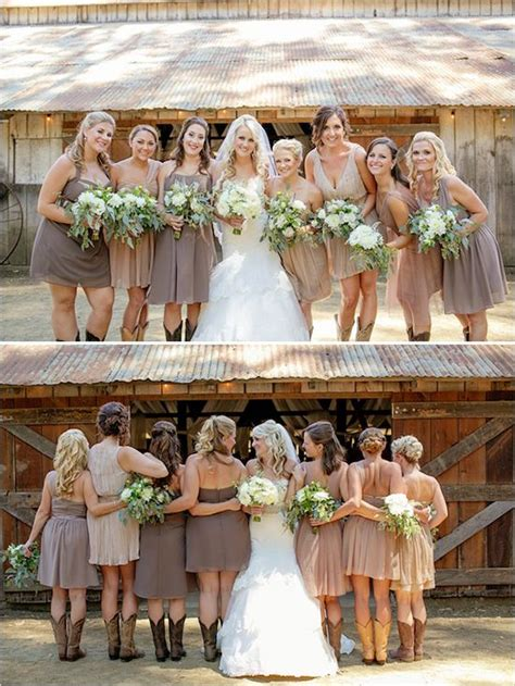 Barn Wedding Bridesmaid Dresses by Fabulous Rustic Barn Wedding Bridesmaids Wedding
