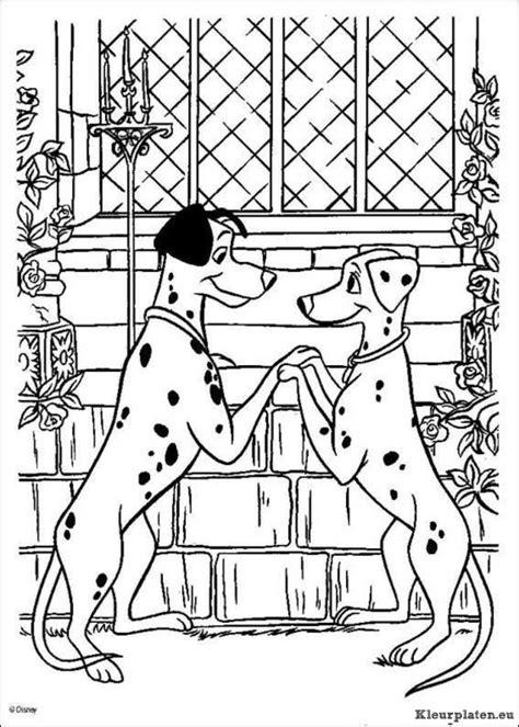 Kleurplaat 101 Dalmatiers by 101 Dalmatiers Kleurplaten Kleurplaten Eu