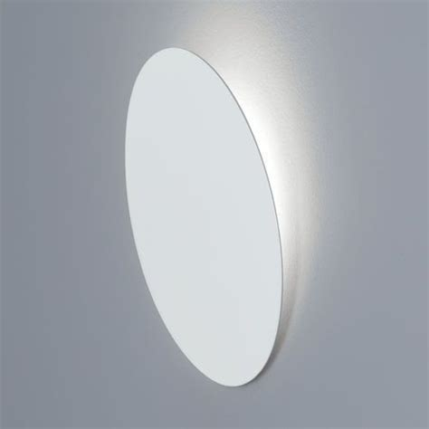 round recessed led wall light fixture face lighting