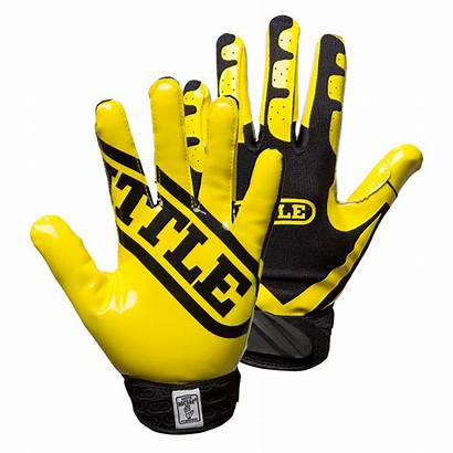 Gloves Football Battle Clipart Yellow Youth Stick