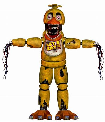 Chica Fnaf Withered Enderziom2004 Favourites