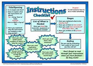Instruction Genre Checklist Mat By Shelleymccuk