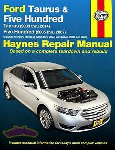 Shop Manual Ford Service Repair 500 Haynes Five Hundred