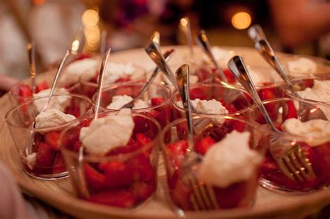 dessert canapes a garden wedding at the grounds of alexandria modern wedding