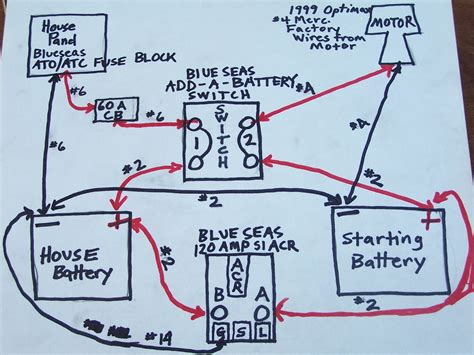 marine electrical wiring diagram wiring diagram with please critique my wiring diagram the hull truth