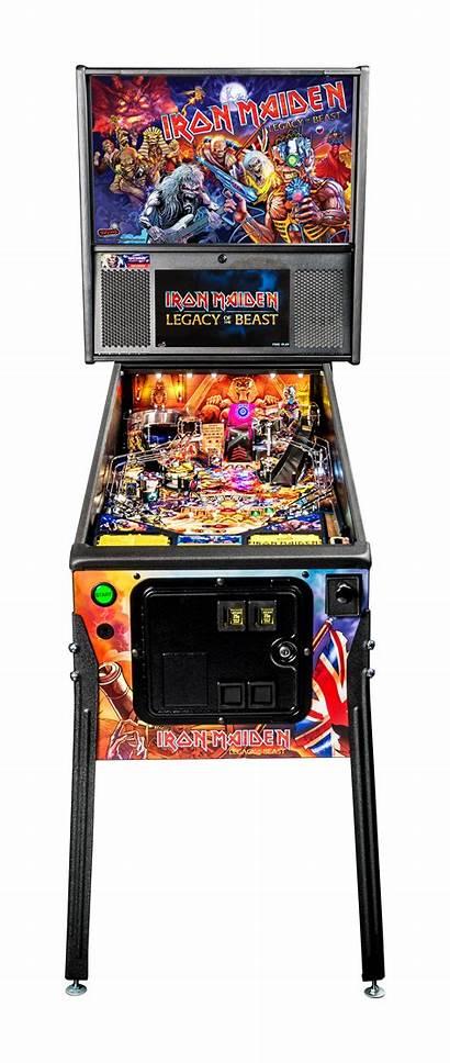 Maiden Iron Stern Pinball Machines Machine Pro