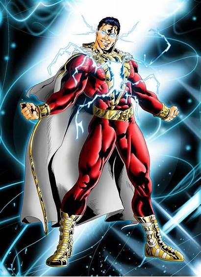 Shazam Pencil Ink Marvel Captain Comic Dc