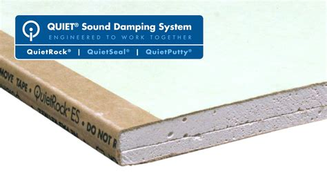 mold proof drywall quietrock es mold resistant drywall a sound ding