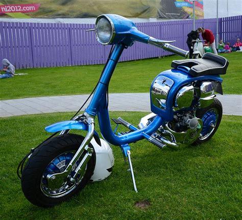 scooter vespa modified 30 mobmasker