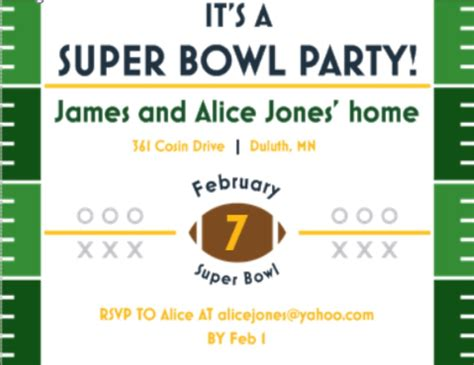 Super Bowl Party Invitations 2018- Football Merry Christmas Letters Printable Microsoft Excel Estimate Template Office 2010 Product Key 2018 Calendar Business Plan Memorandum Of Record Construction Schedule Card Templates