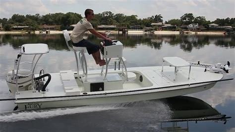 Skiff With Tower by Flats Tower Fury With Etec 60 East Cape Skiffseast Cape