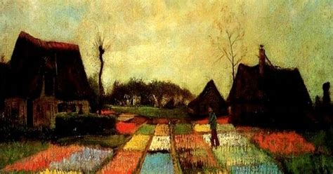 bulb fields by vincent gogh 1883 paintings