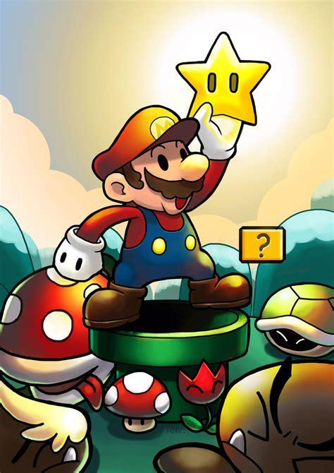 Super Mario By ~fenrir2512 On Deviantart Cool Stuff Vid