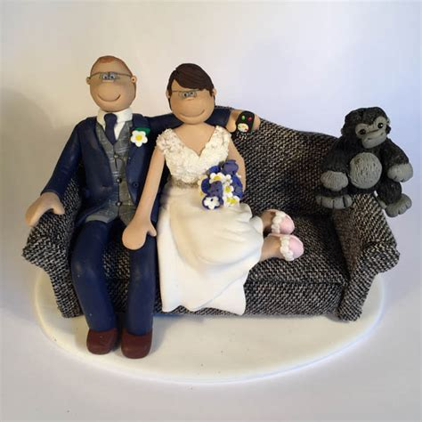 themed wedding cake toppers totally topperscom