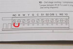 Heat Pump Thermostat Wiring Help