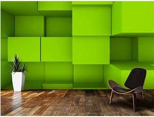 Aliexpress.com : Buy Custom 3D wallpaper, 3D blocks ...