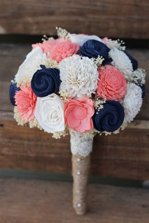 pretty navy blue  white wedding ideas deer pearl