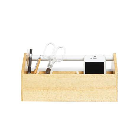 bureaux en bois organisateur de bureau en bois design
