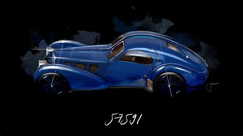 It is a feast of aesthetics, says stephan winkelmann. Icône de style : la Bugatti Type 57 SC Atlantic