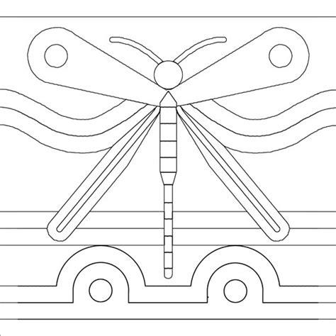 quot dragonfly quot mosaic pattern brett cbell mosaics