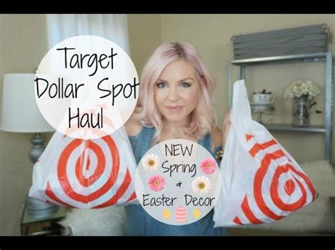 Target Dollar Spot Haul New Spring + Easter Decor Megan