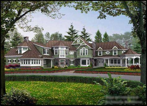 craftsman shingle luxury house plans home design cd