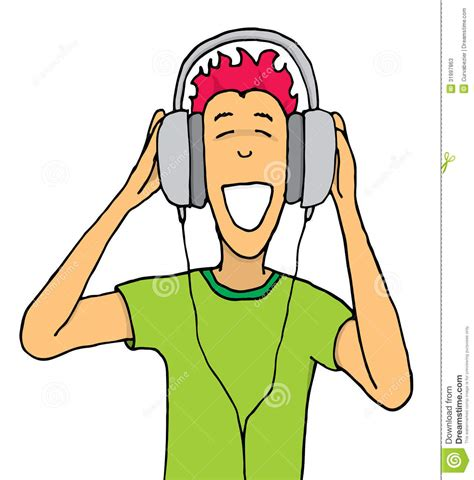 listening to ipod clipart person listening to clipart 58