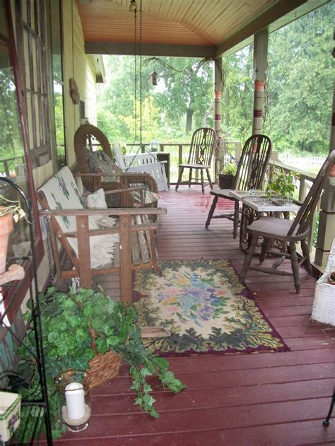 Country Front Porch by 91 Best Primitive Porches Images On Cottage