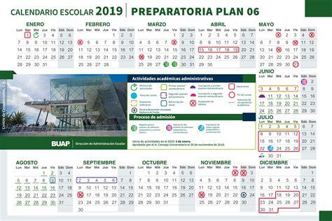 calendario admision buap