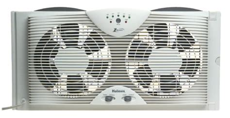 holmes twin window fan with comfort control thermostat top 10 best window fans reviewed in 2016